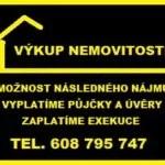 Výkup nemovitosti a dr. bytů s následným  nájmem