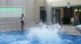 InZwischenZeit:Filme dreht im Schwimmbad für einen Imagefilm für den Verein Gemeinsam mit Behinderten e.V.