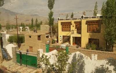 Kelionė į Ladakh'ą 2016, 1 diena mokykloje
