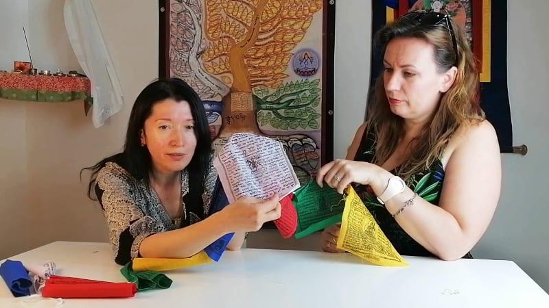 &1: Atsikvėpkime. Pakalbėkime/Tibetietiškos maldos vėliavėlės sėkmei