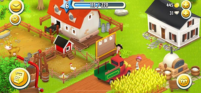jeux d'agriculture - Hay Day