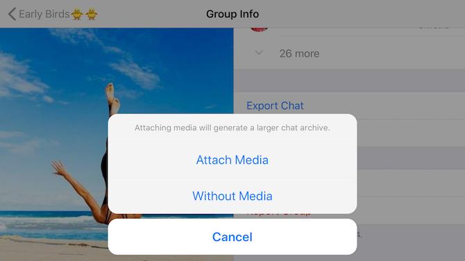 inclure-media-option-for-export-chat-from-whatsapp-on-iphone