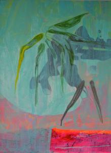 24 - Equilibrium - 2015 - 61 x 46 cm slash 24 x 18 inches - acrylic on canvas
