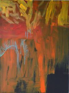 9 - Equilibrium - 2015 - 61 x 46 cm slash 24 x 18 inches - acrylic on canvas