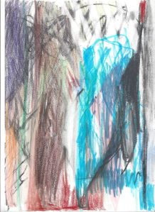 90 - Windows project - 2015 - 32 x 24 cm slash 13 x 9 inches - pencil, pen and markers on paper