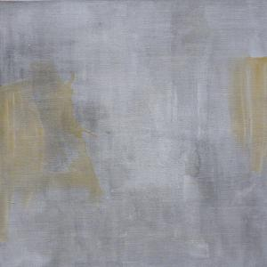 Monochrome_2 - Mereu 8 Rue... Brasov - 2016 - acrylic on linen - 125 x 125 cm slash 49 x 49 inches