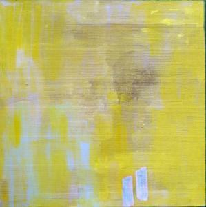 Monochrome_3 - Mereu 8 Rue... Brasov - 2016 - acrylic on linen - 125 x 125 cm slash 49 x 49 inches