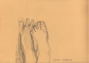 Unilted_5 - 2013 - 24 x 32 cm slash 9 x 13 inches - pencil on paper