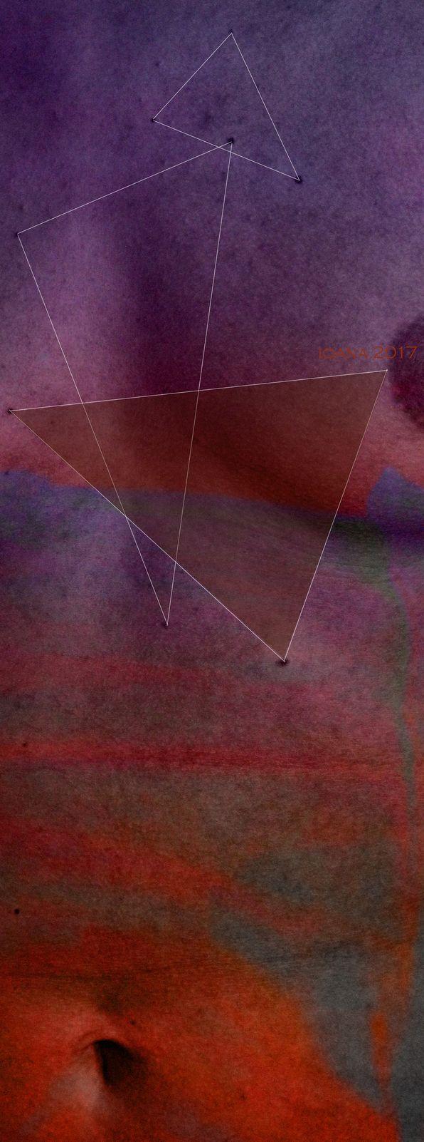 vertical 26 - Bosom Bodies - 2017 - 120 x 42 cm / 45 x 17 inches - digital sketch