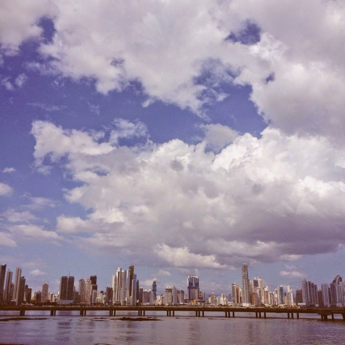 Panama City seen from Casco Viejo