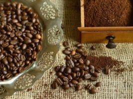 Exfoliere cu boabe de cafea măcinată