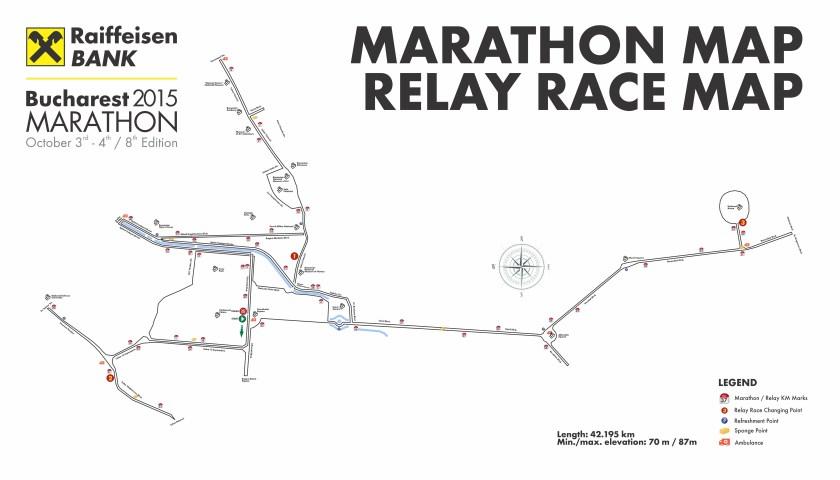 traseu bucuresti maraton