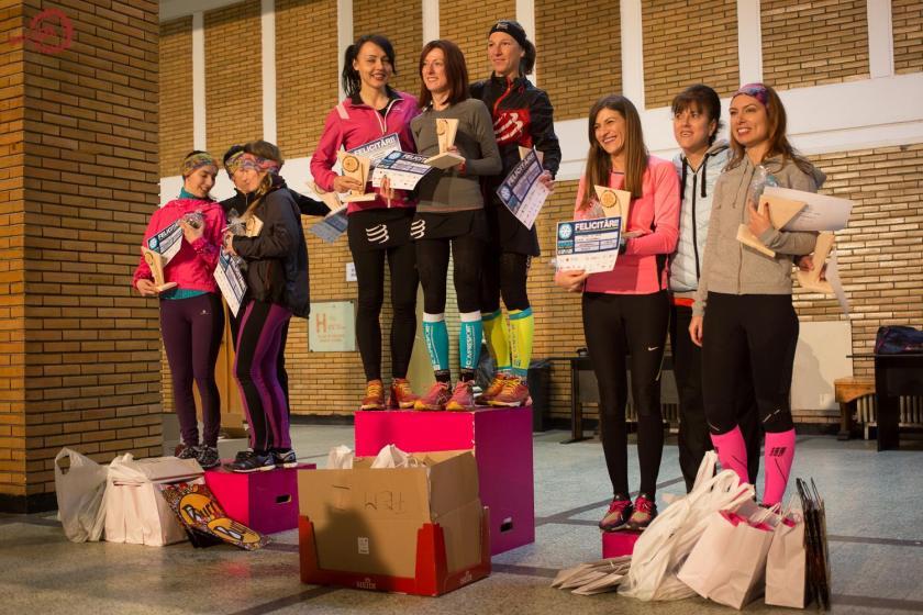 (c) Bike Geek Podiumul feminin, bravo tuturor fetelor, e o placere si o provocare sa alerg alaturi de voi!