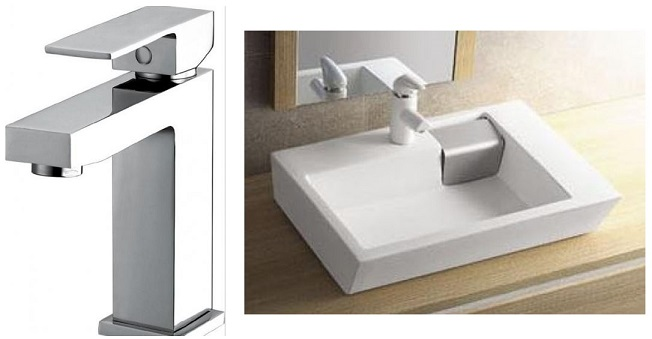 obiecte sanitare - baterie chiuveta - lavoar baie