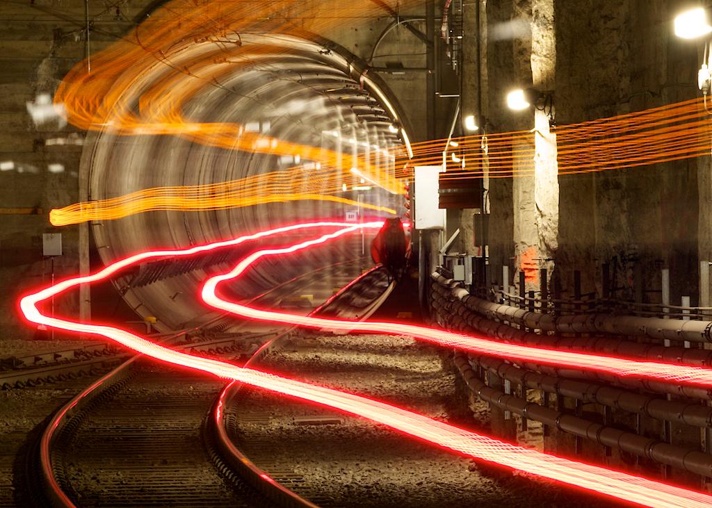 Edmonton LRT Ghost Train