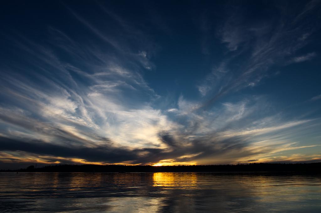 Lake Wabamum Sunset