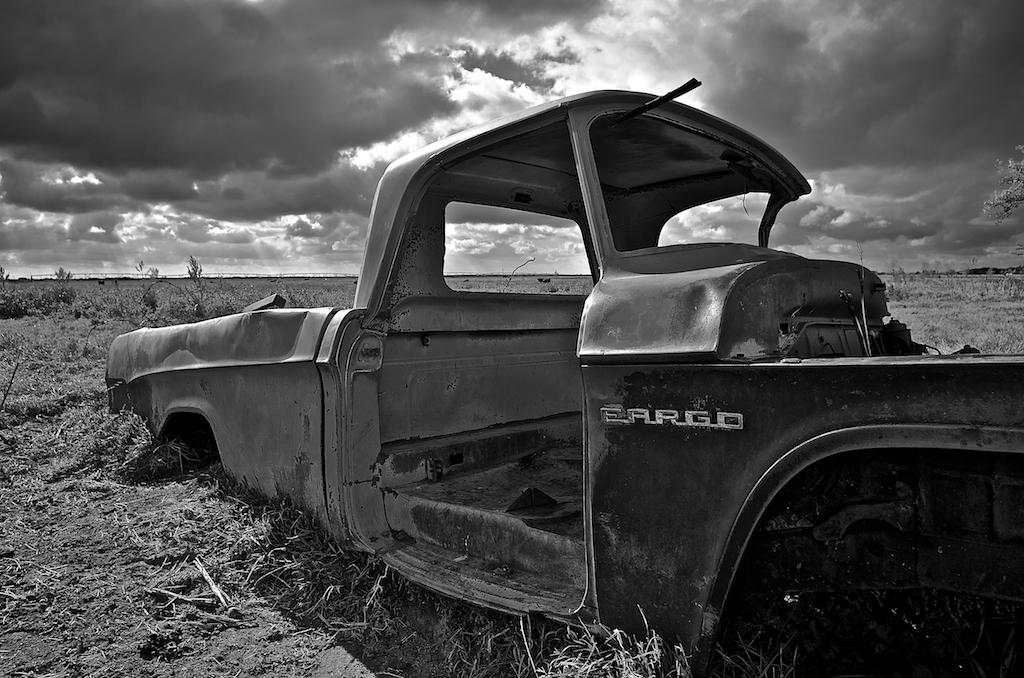 Fargo Truck: Badlands, Alberta