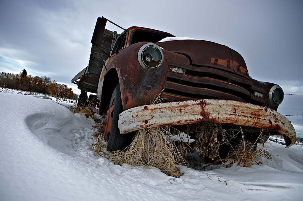 Rusted, Advanced Design GM Truck