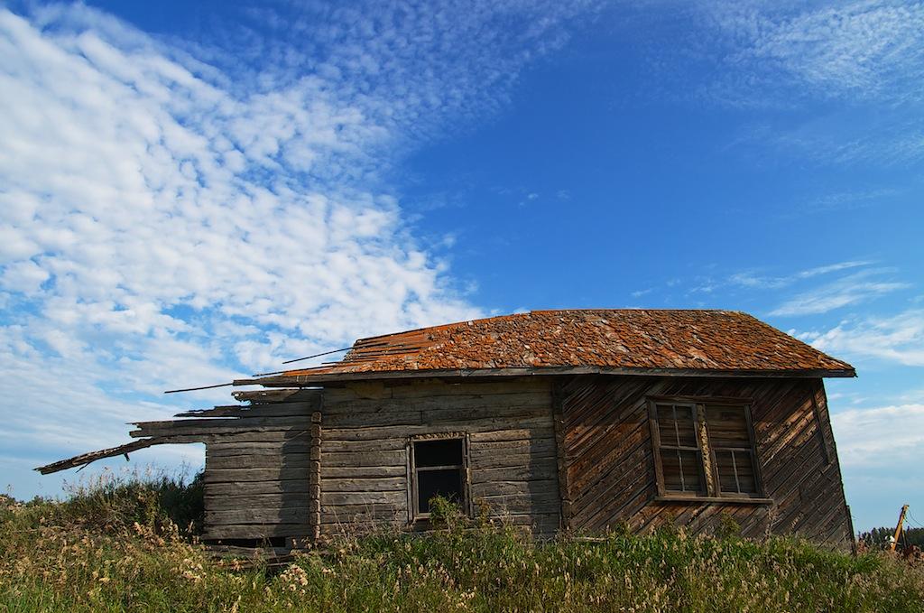 Abandoned Settler Home