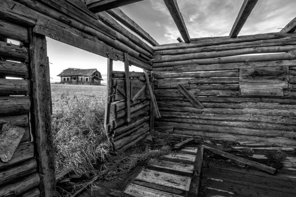 log cabin Alberta