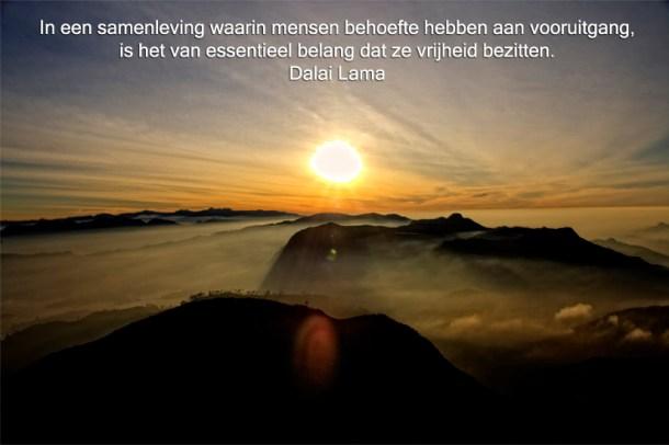 uitspraak dalai lama, foto door DJKopsky, Sri Lanka