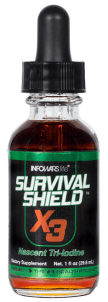 Nascent Iodine Supplement Survival Sheild X-3
