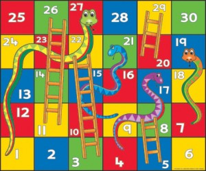 Snakes, no Ladders