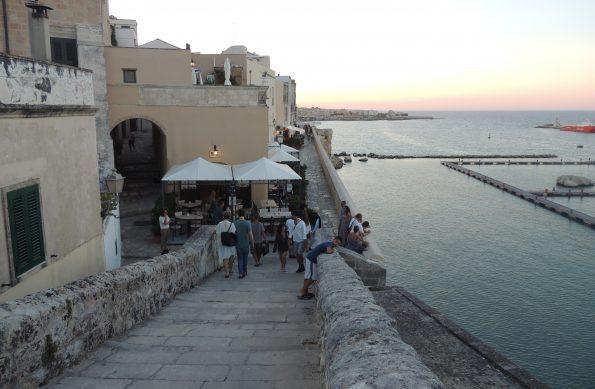 Otranto. dal Castello verso ilmare