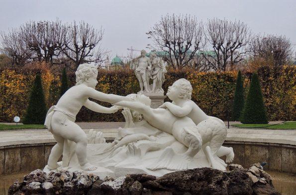 Una della fontana del Belvedere