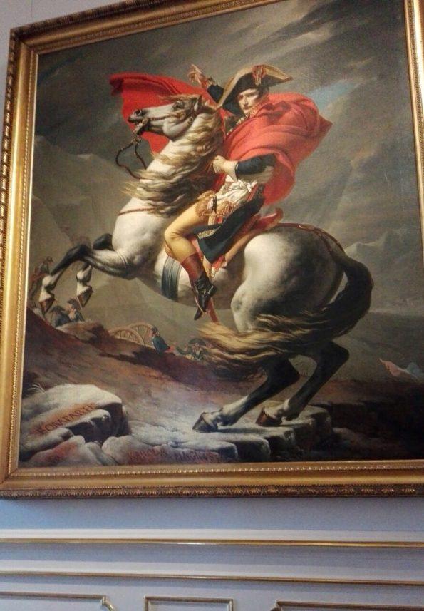 """""""Napoleone al passo del S.Bernardo"""", J.L.David"""