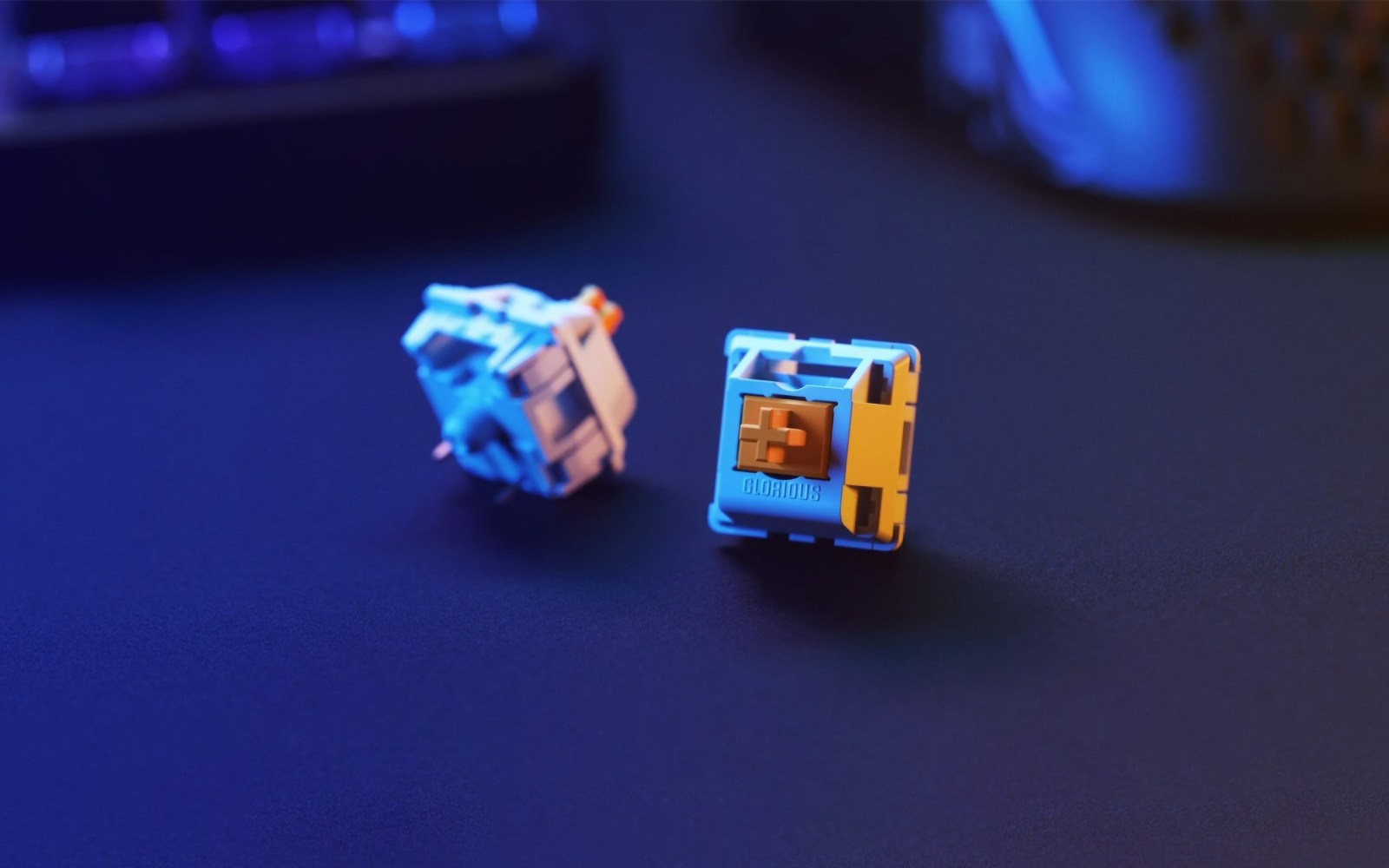 Glorious Panda Mechanical Switches for a transcendent typing experience