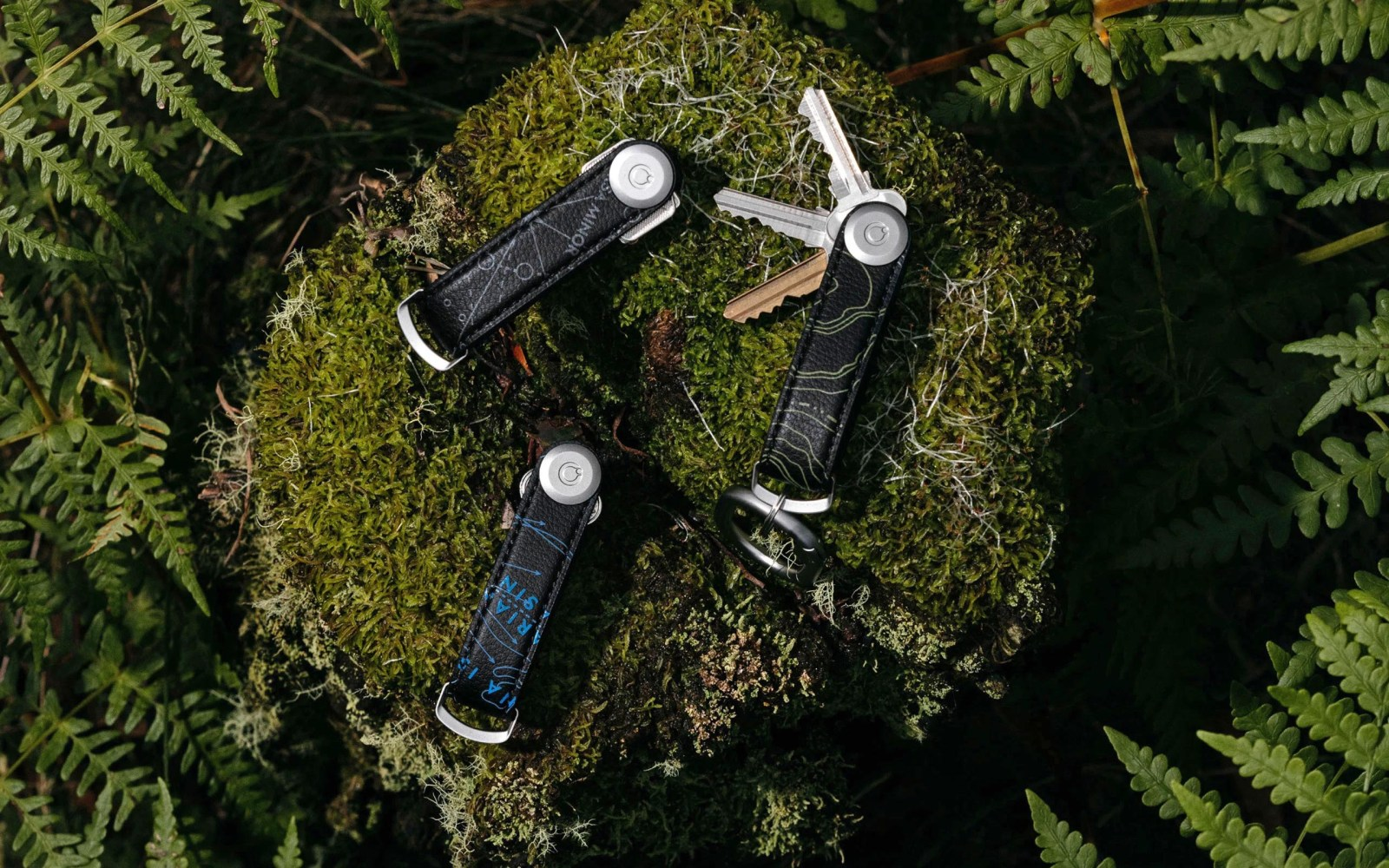 Orbitkey National Geographic Collection is a limited edition key organizer in cactus leather