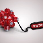 """The Magnetic """"Light-Mine"""" by STKR Concepts is a powerful flashlight smaller than a golf ball"""