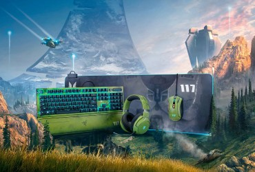 Master Chief arrives on Razer's best peripherals with the official license of Halo Infinite