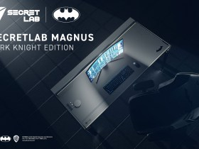 Set up your own Batcave with The Dark Knight Edition Magnus Metal Desk