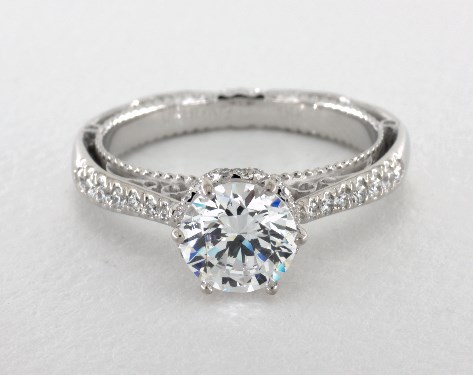 Verragio Venetian Engagement Ring 14K White Gold 65052W14