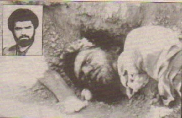 Un militante giustiziato nellestate del 1988