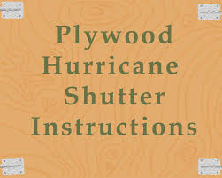 Plywood Shutter Instructions Featured Image