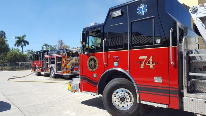 Truck Co. 74 - Iona McGregor Fire District
