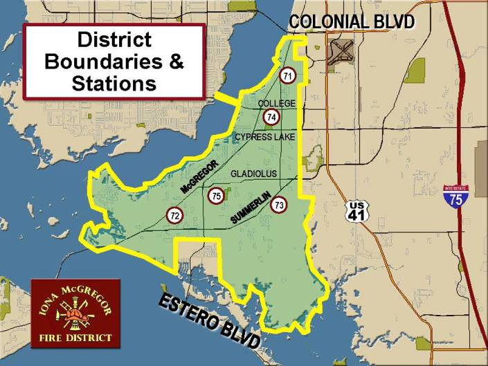 District Boundaries Map