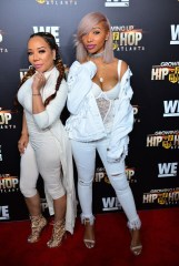 Zonnique Pullins with mother Tiny Harris