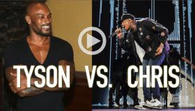 Chris Brown and Tyson Beckford