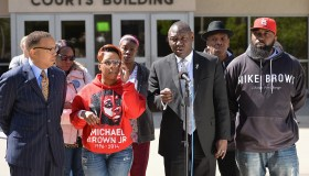 Family Members Of Michael Brown Announce Civil Lawsuit Over His Death In Ferguson