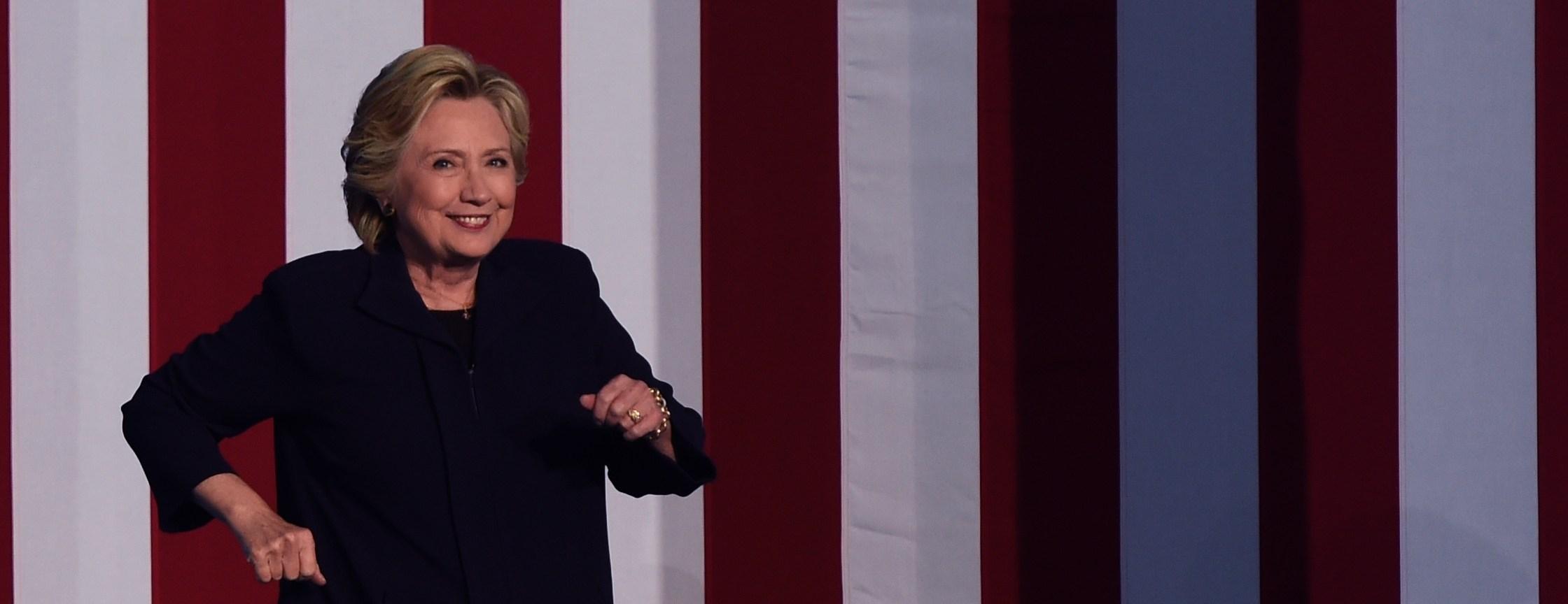 TOPSHOT-US-POLITICS-ELECTION-CLINTON