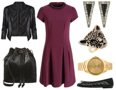 Fashion advice: How to wear bordeaux red? Tips from a personal stylist