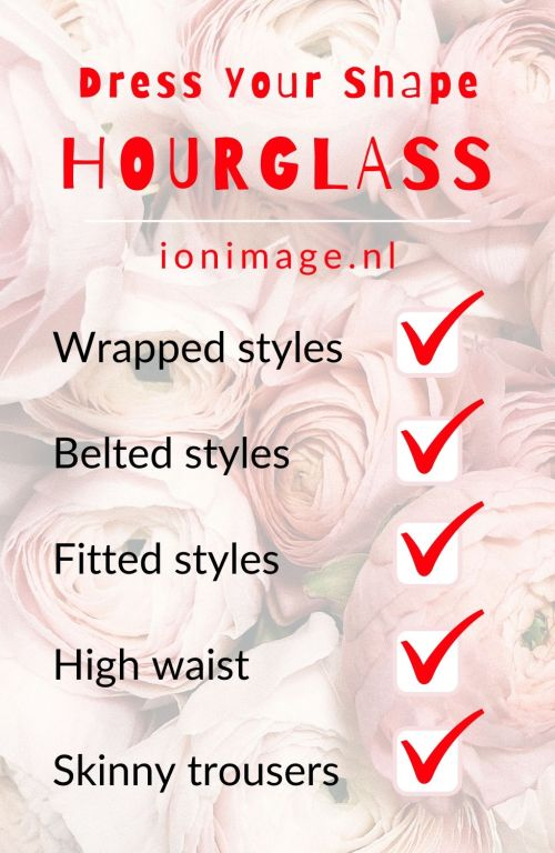 Dress Your Shape HOURGLASS. Personal style advice for you.