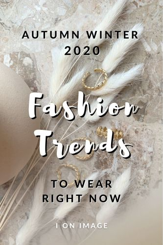 Best Autumn Winter Fashion Trends Selected By Personal Stylist - Image For Pinterest