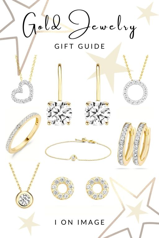 Blush Jewels - Gold Jewelry Gift Guide by Personal Stylist Jenni at I on Image in The Netherlands