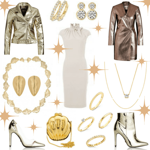 Sparkles! Holiday Party Looks by personal stylist Jenni at I on Image in The Netherlands