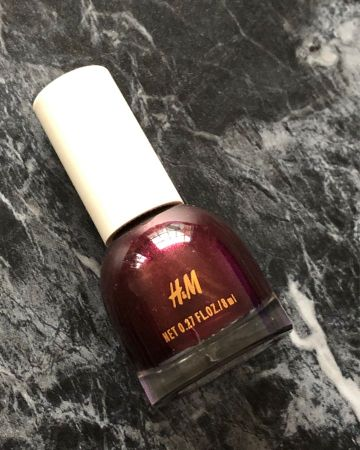 """H&M Beauty nail polish """"Marquise"""" deep bordeaux red"""